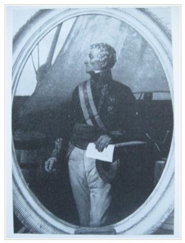 D. Gabriel Ciscar y Ciscar, capitán de la Real Armada.