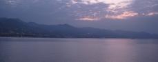 Amanece en el Golfo de Génova.