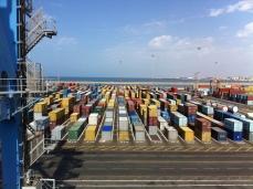 Terminal de contenedores de Casablanca.