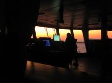 Navegando rumbo a Túnez.