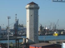 Torre del Marzocco. Puerto de Livorno.