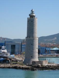 El faro de Livorno.