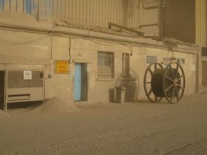 Muelle de graneles, Casablanca.
