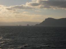 El Cabo Ortegal, amenazador