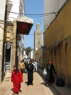 Las calles de la Medina Antigua de ad-Dār al-Baīḍa