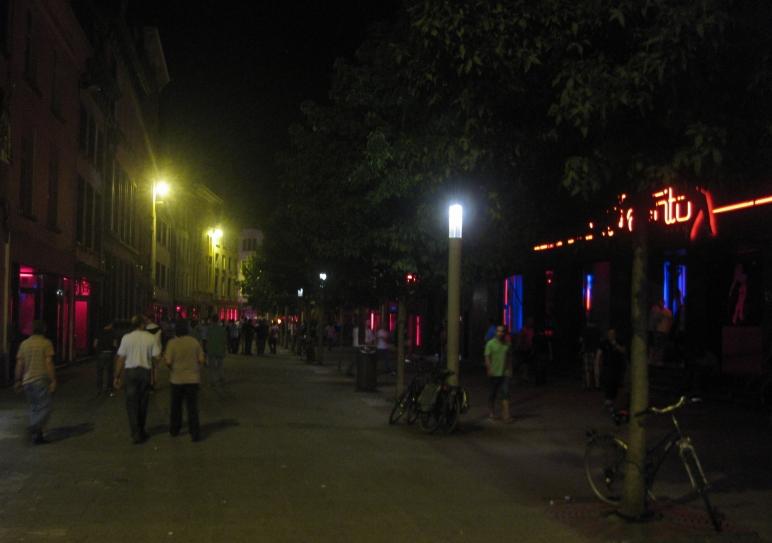 Barrio Rojo de Amberes.